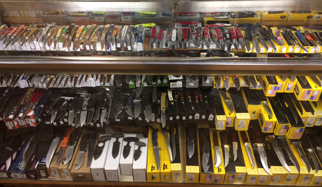 Knives of evey imaginable type